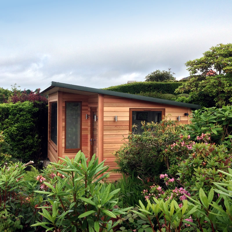 Garden Rooms Scotland built by CSU Web Design