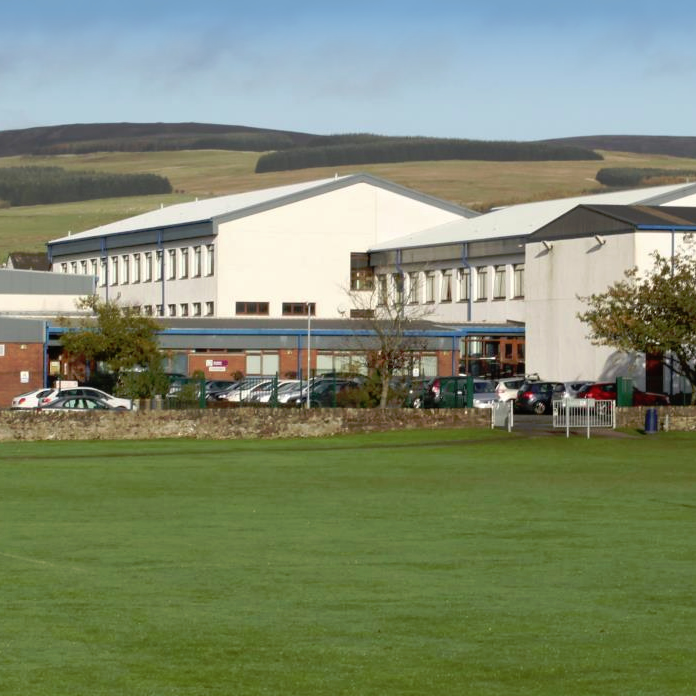 Sanquhar Academy built by CSU Web Design